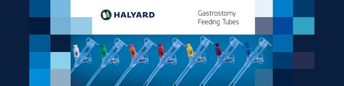Halyard Gastrostomy Feeding Tubes